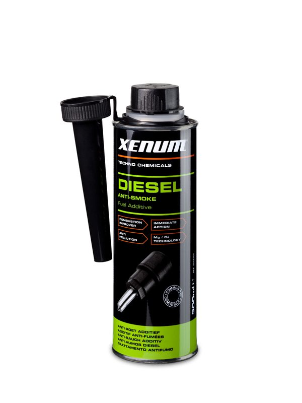 Xenum Diesel Anti Smoke - Additif pour carburant Diesel