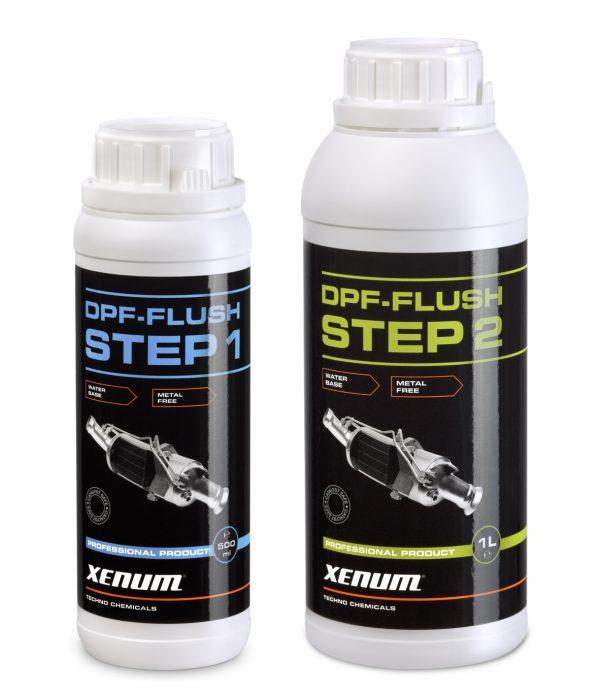 Xenum DPF FLUSH KIT (Etapes 1 + 2) - Additif pour carburant Diesel