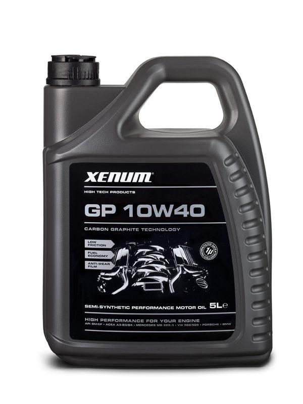 Xenum GP 10w40 - Huile moteur - Graphite