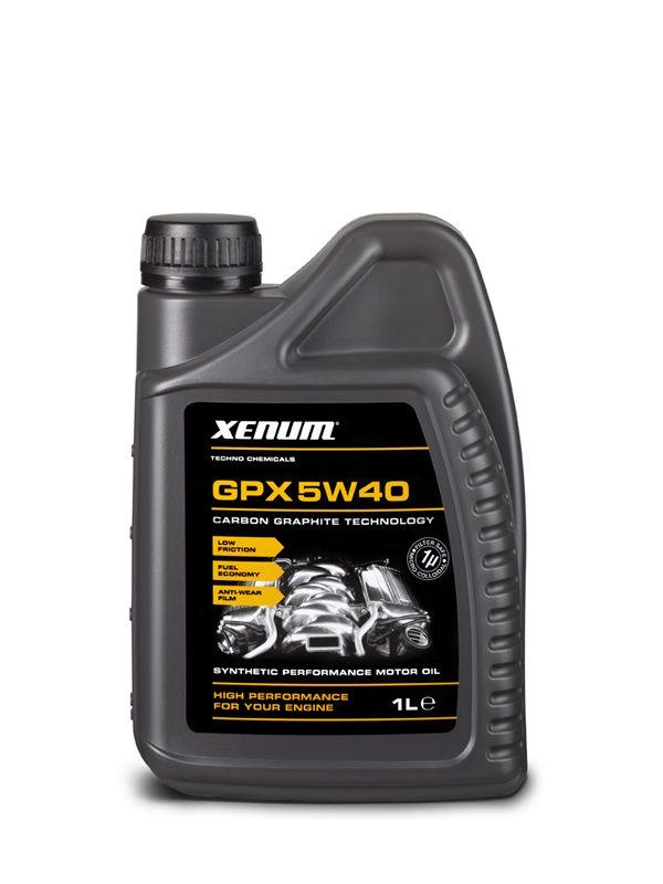 Xenum GPX 5W40 - Huile moteur - Graphite