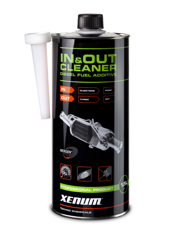xenum in out cleaner additif pour carburant diesel. Black Bedroom Furniture Sets. Home Design Ideas