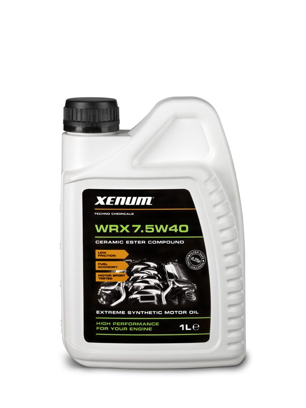 Xenum WRX 7.5w40 - Huile moteur - Céramique